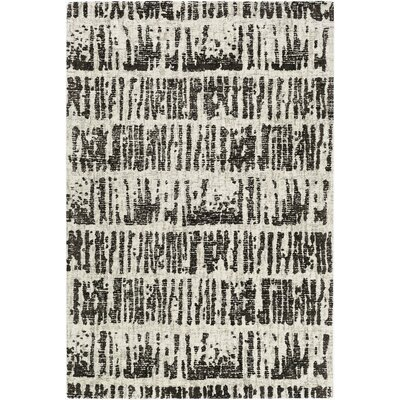 Lipson Hand-Tufted Beige/Gray Area Rug Rug Size: Rectangle 5 x 76