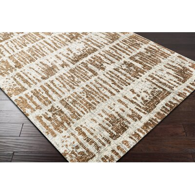 Lipson Hand-Tufted Beige/Brown Area Rug Rug Size: Rectangle 8 x 10