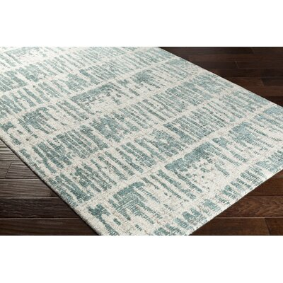 Lipson Hand-Tufted Beige/Green Area Rug Rug Size: Rectangle 2 x 3