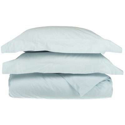 Backwell Duvet Cover Set Color: Light Blue, Size: Twin