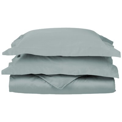 Backwell Egyptian-Quality Cotton Duvet Set Size: Full/Queen, Color: Teal