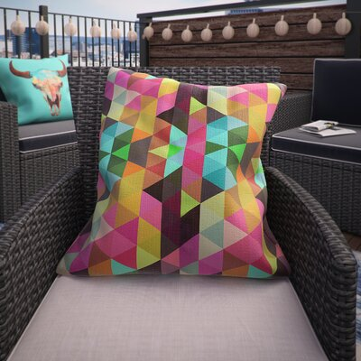 Emert Modele Indoor/Outdoor Throw Pillow Size: 18 H x 18 W