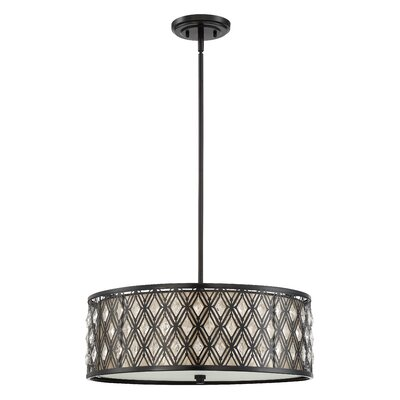 Orrville 4-Light Drum Pendant