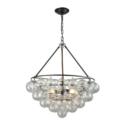 Odoms 3-Light Crystal Chandelier