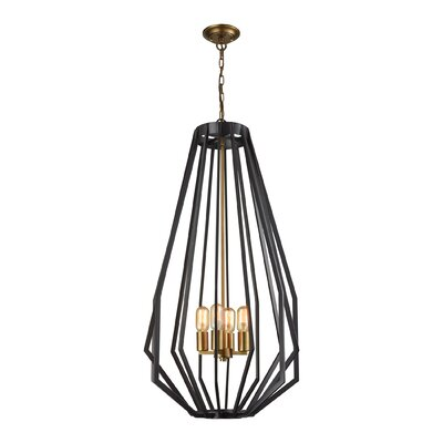 Mcnemar 4-Light Foyer Pendant
