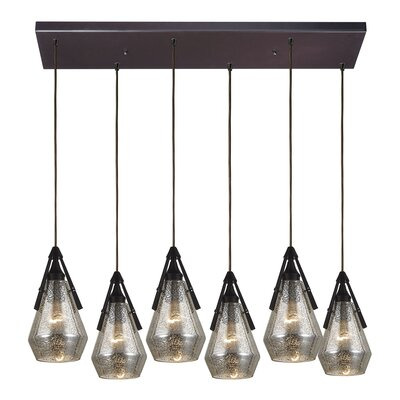 Second Avenue 6-Light Kitchen Island Pendant Finish: Polished Chrome