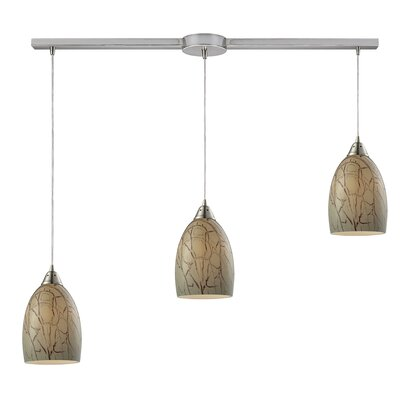Nostrand 3-Light Kitchen Island Pendant