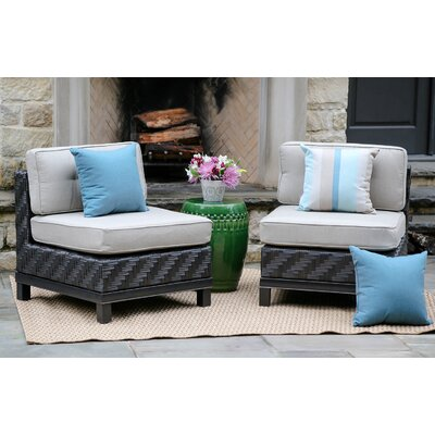 Laforce Armless Chairs with Cushion