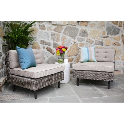 Kenn Armless Chairs with Cushion