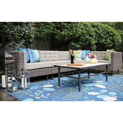 Kenn 6 Pieces Deep Seating Group with Cushion