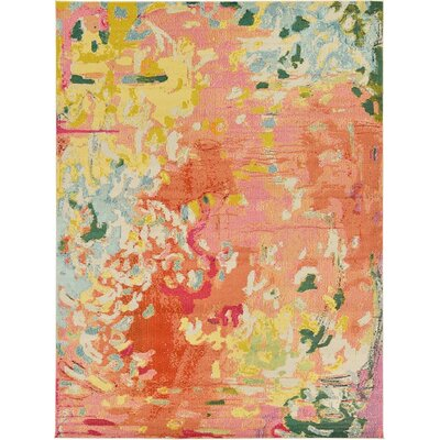Orchard Street Pink Area Rug Rug Size: Runner 27 x 10