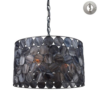 Swanton 3-Light Drum Pendant