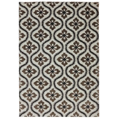 Meadows Ivory Area Rug Rug Size: Rectangle 5 x 8