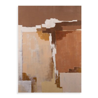 Desert Abstract Original Painting on Canvas