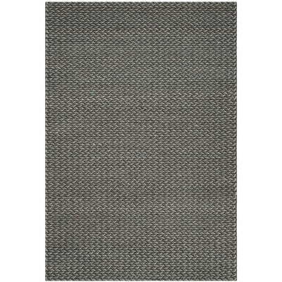 Sinope Hand-Tufted Turquoise/Gray Area Rug Rug Size: 8 x 10