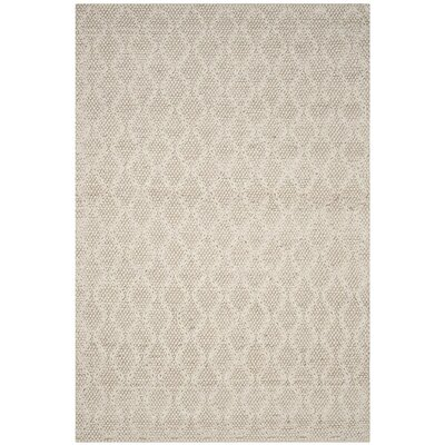 Sinope Hand-Tufted Ivory Area Rug Rug Size: Rectangle 8 x 10