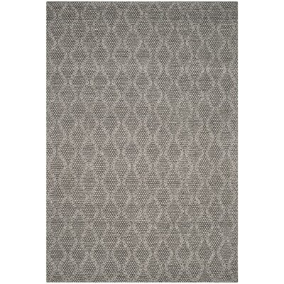 Sinope Hand-Tufted Gray Area Rug Rug Size: Rectangle 6 x 9