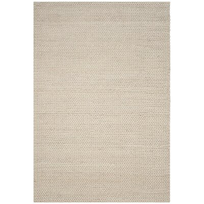 Sinope Hand-Tufted Ivory Area Rug Rug Size: 8 x 10
