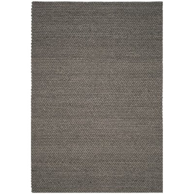 Sinope Hand-Tufted Gray Area Rug Rug Size: Rectangle 4 x 6