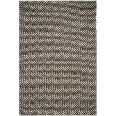 Sinope Hand-Tufted Gray Area Rug Rug Size: 6 x 9
