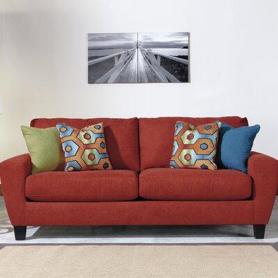 Metsahovi Sofa Upholstery: Crimson