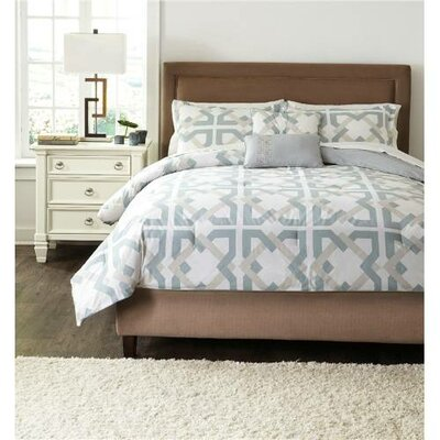 Morrisania 5 Piece Comforter Set Size: King