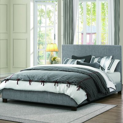 Lucille Upholstered Platform Bed Size: King