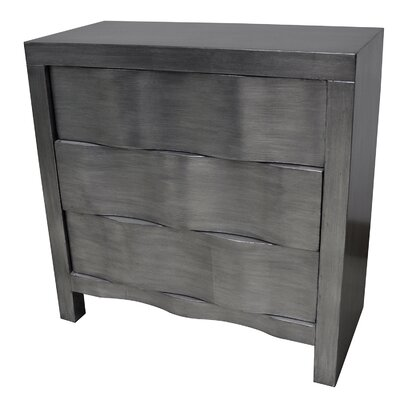 Griffie 3 Drawer Hidden Handle Chest