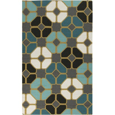 Fillion Ikat Area Rug Rug Size: 5 x 8