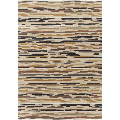 Cassady Hand-Tufted Area Rug Rug size: Rectangle 5 x 8