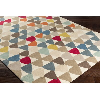 Cassady Hand-Tufted Area Rug Rug size: Rectangle 8 x 10