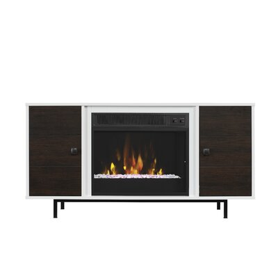 Mattocks 47 TV Stand with Fireplace