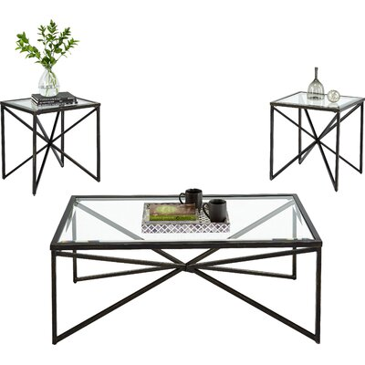 Greene 3 Piece Coffee Table Set
