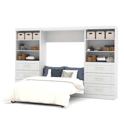 Walley Murphy Bed Finish: White