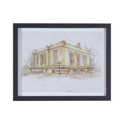 Grand Central Terminal Framed Painting on Canvas