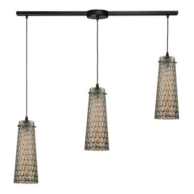 Toomey 3-Light Kitchen Island Pendant
