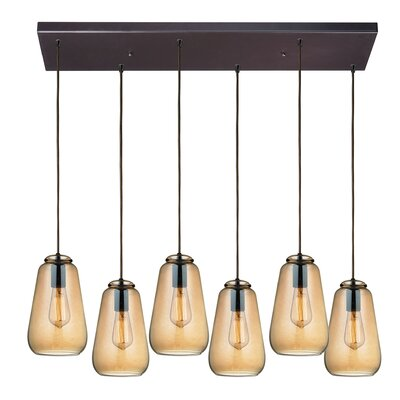 Toothman 6-Light Kitchen Island Pendant