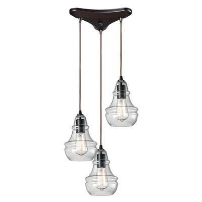 Topete 3-Light Mini Pendant