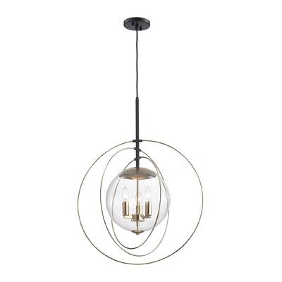 Bearce 3-Light Globe Pendant