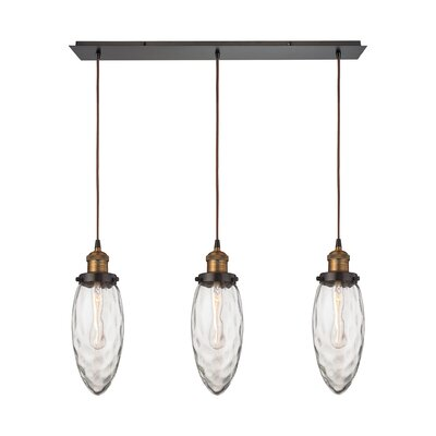 Biddle 3-Light Kitchen Island Pendant