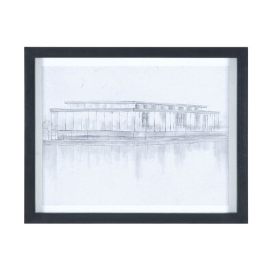 Kennedy Center Framed Painting Print on Canvas