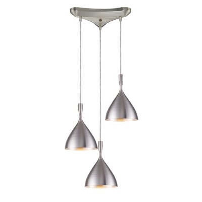 Celise 3-Light Cascade Pendant