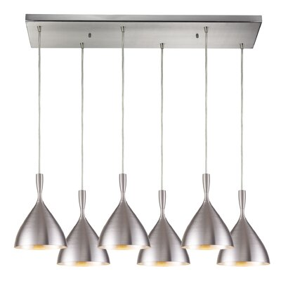Celise 6-Light Kitchen Island Pendant