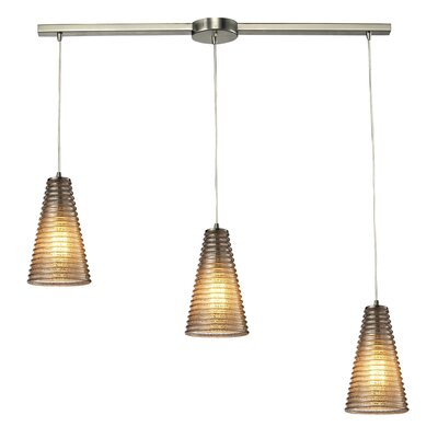 Govan 3-Light Kitchen Island Pendant
