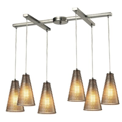 Govan 6-Light Kitchen Island Pendant