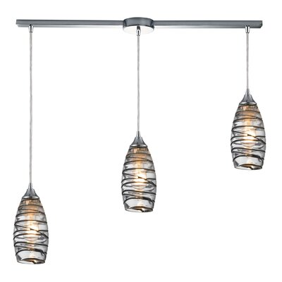 Goudy 3-Light Kitchen Island Pendant