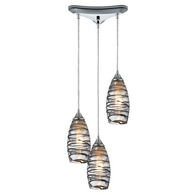 Goudy 3-Light Pendant