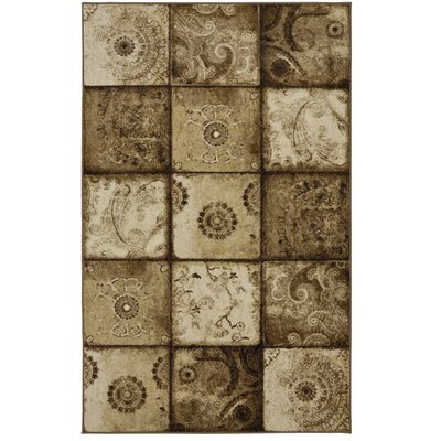Vicini Brown Area Rug Rug Size: 5 x 8