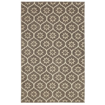 Pinaire Gray/Beige Area Rug Rug Size: Rectangle 76 x 10