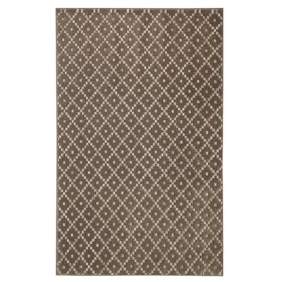 Spuyten Walnut/Taupe Area Rug Rug Size: Rectangle 5 x 8